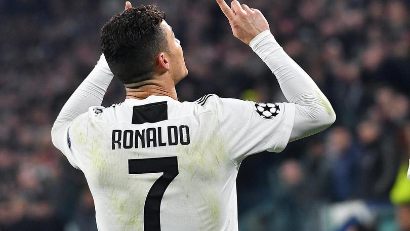 """Juve-Atletico, dalla Spagna il video che """"annulla"""" il secondo gol di Ronaldo"""