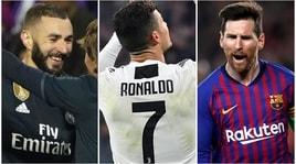 La Spagna esalta Ronaldo: la classifica dei bomber di sempre in Champions