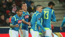 Europa League: il Napoli rischia a Salisburgo ma centra i quarti