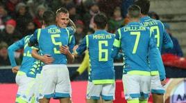 Salisburgo-Napoli 3-1: Milik porta Ancelotti ai quarti