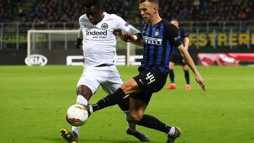 Europa League Inter-Eintracht 0-1, il tabellino