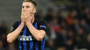Europa League: l'Inter affonda contro l'Eintracht