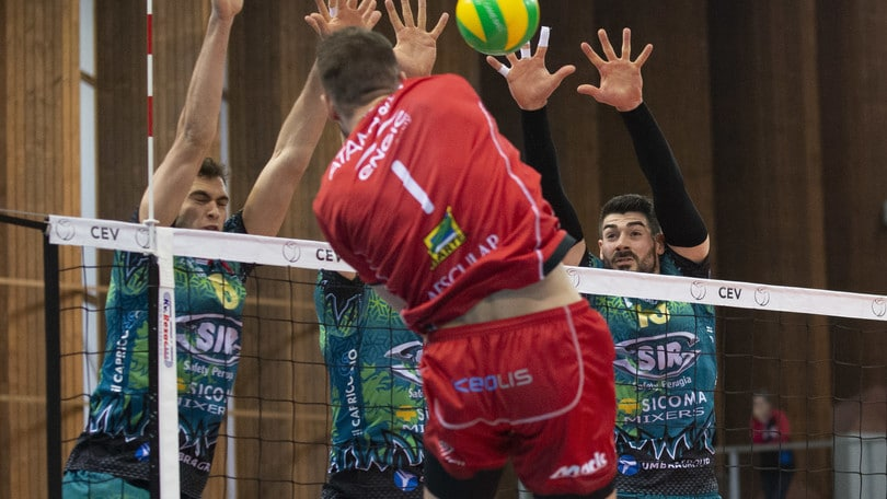Volley: Champions League, Perugia rimonta e vince al tie break