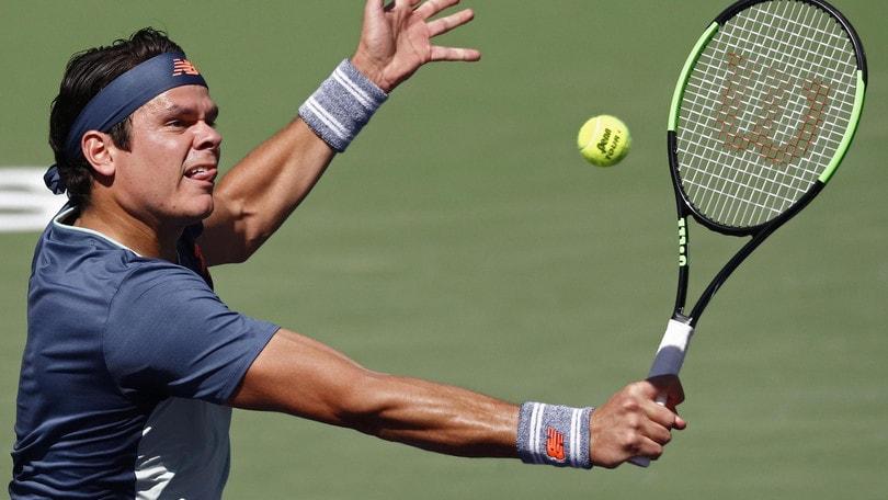 Tennis, Indian Wells: in semifinale Raonic, continua la favola Bencic
