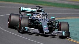 F1 Gp Australia, Hamilton più veloce di Vettel nelle prime libere