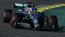 F1 Gp Australia, doppietta Mercedes nelle seconde libere