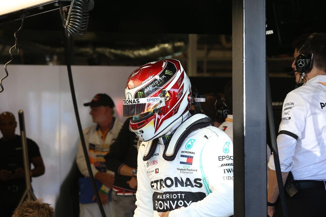 F1 Mercedes, Hamilton: «Buone sensazioni»