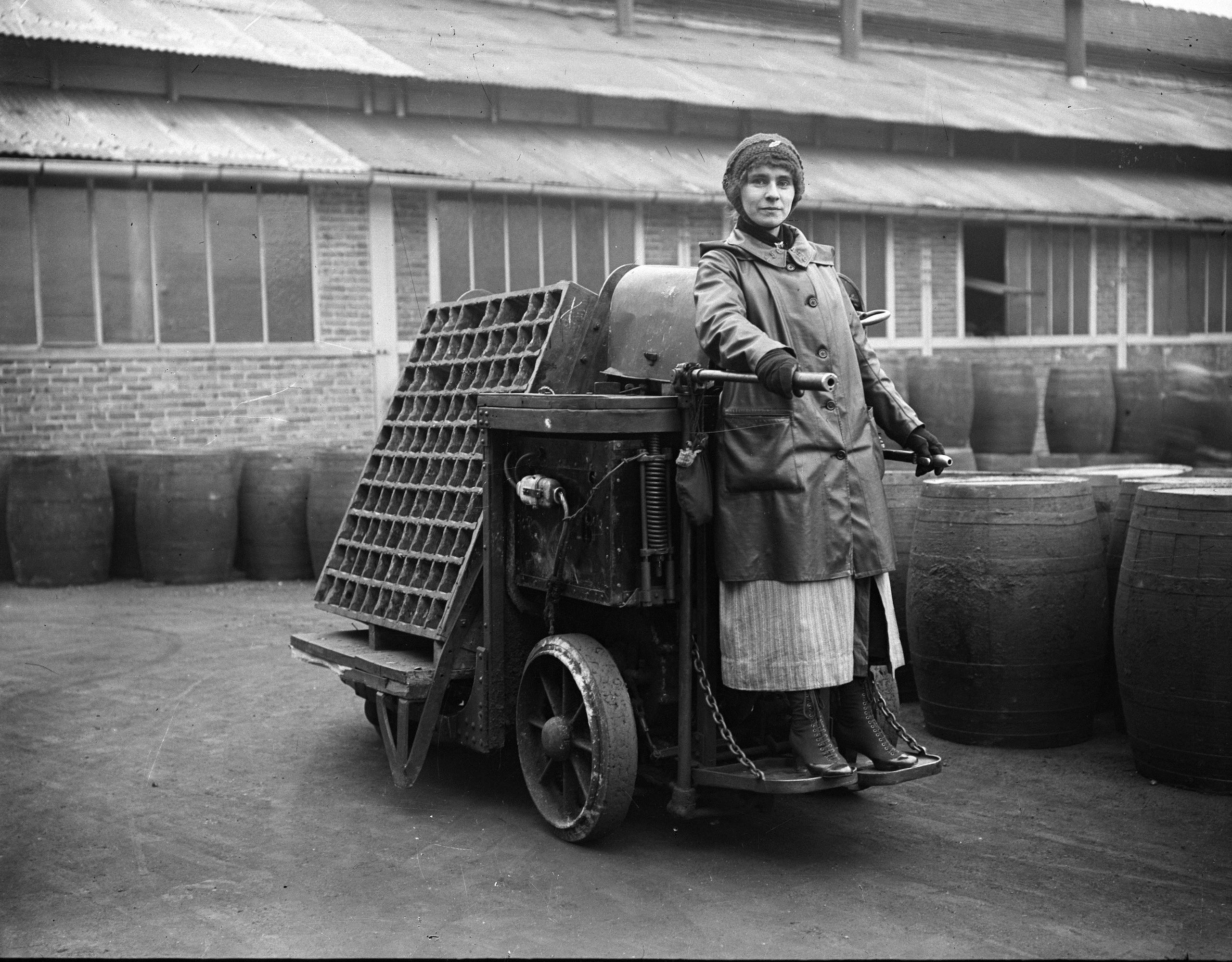 Le donne nelle fabbriche Citroën