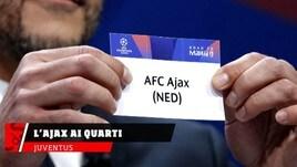 Champions, la Juve pesca ai quarti l'Ajax