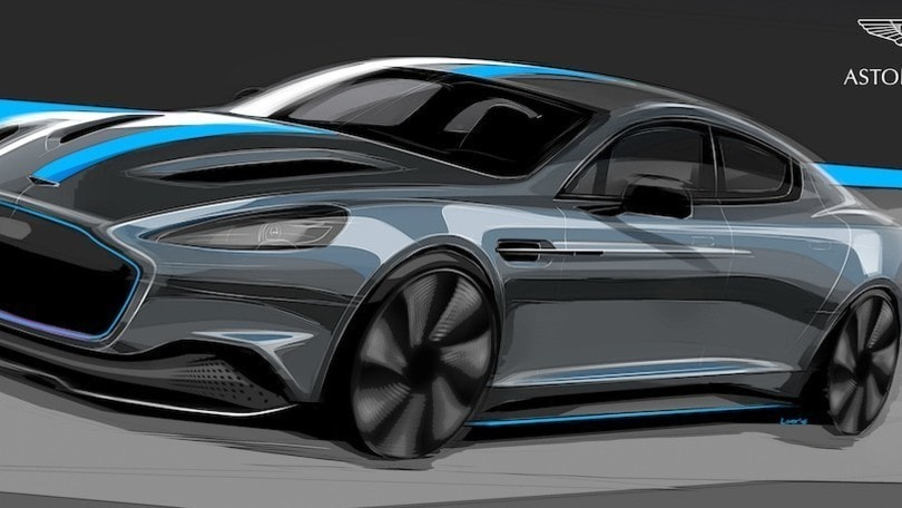 Aston Martin Rapid E, l'auto elettrica per James Bond