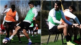 Milan, al lavoro per l'Inter. MaPaquetá è in panchina...