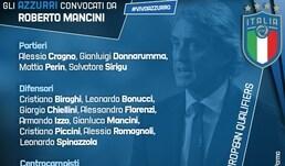 Italia, i convocati di Mancini: ci sono Immobile e Kean, escluso Balotelli