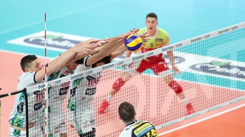 Volley: Superlega, Modena-Trento sfida ad alta quota della 12a giornata