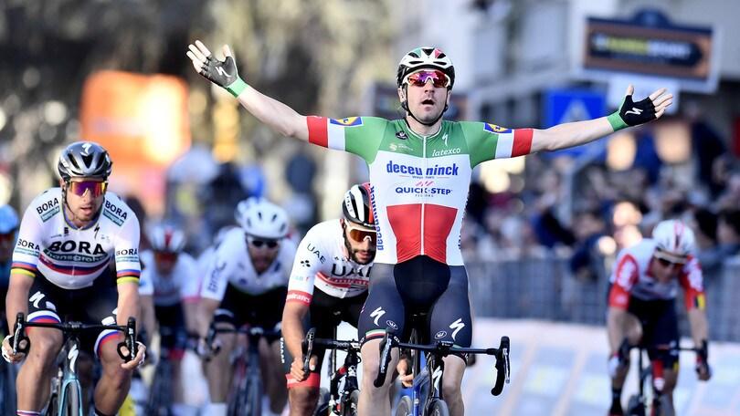 Ciclismo, 3ª tappa Tirreno-Adriatico: Viviani trionfa in volata