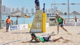 Beach Volley: a Doha Lupo-Nicolai battuti dai fratelli Grimalt