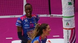 Volley: A1 Femminile, ancora in anticipo le tre italiane di Champions