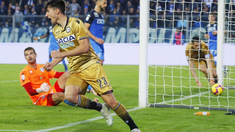 Serie A Udinese, Pussetto e Okaka tornano in gruppo