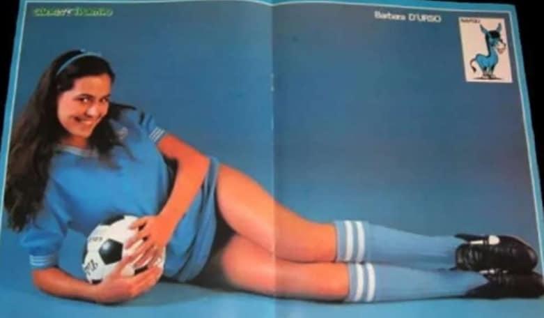 Barbara D'Urso, il Napoli e quella foto sul Guerino