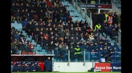 Tragedia durante Cagliari-Fiorentina: muore un tifoso sardo