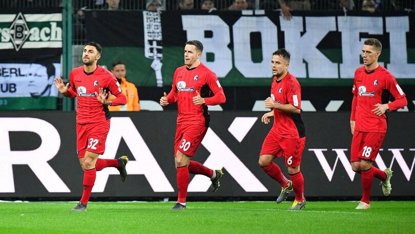 Bundesliga, il Friburgo di Grifo ferma il Mönchengladbach