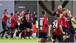 Serie A, Joao Pedro-Ceppitelli lanciano il Cagliari. Alla Fiorentina non basta Chiesa