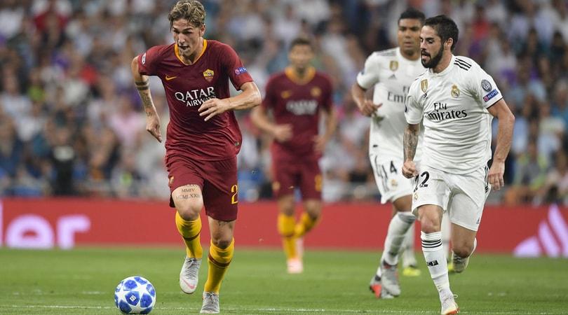 Roma, Zaniolo in campo con vista sul Real Madrid: pronta un'offerta da oltre 60 milioni