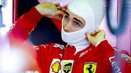 F1 Ferrari, Leclerc: «Potevo fare meglio»