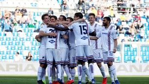 Sampdoria a forza cinque, Sassuolo ko nella fiera del gol