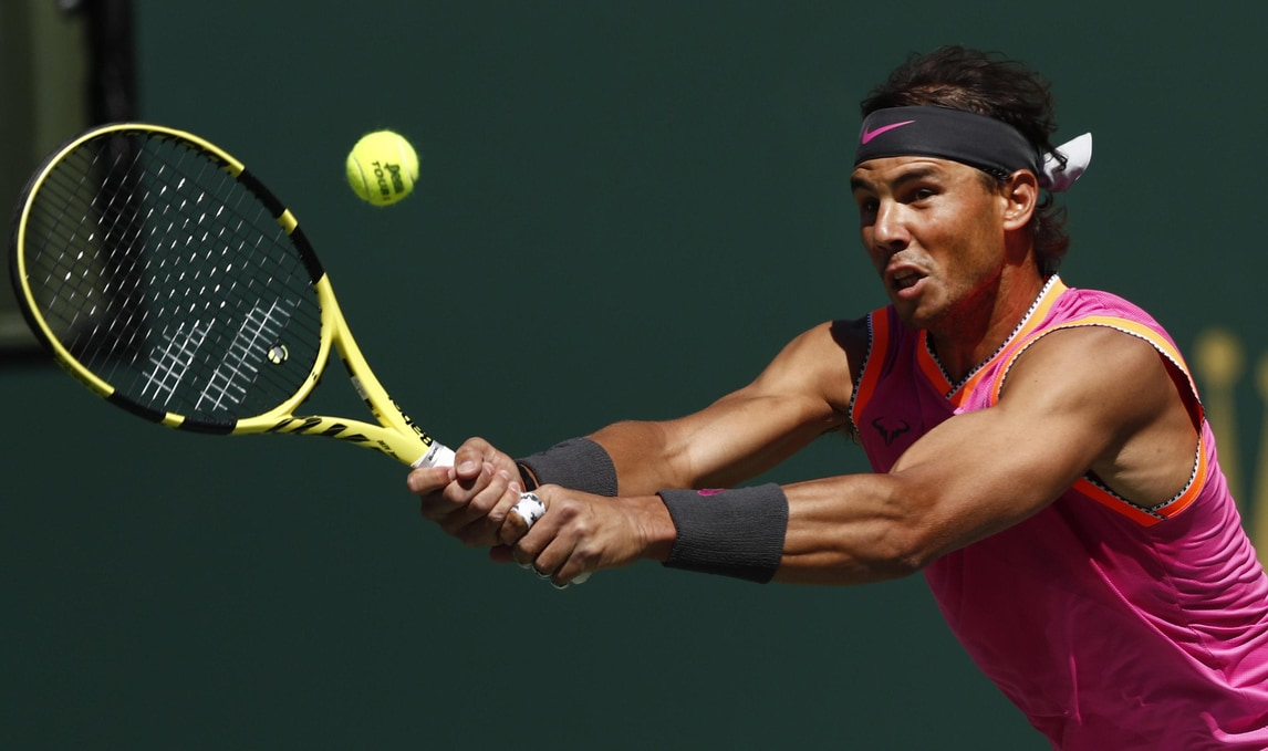 Atp Indian Wells: Nadal si ritira, Federer in finale senza giocare