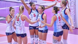 Volley: A1 Femminile, il derby è di Scandicci