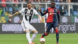Serie A Genoa-Juventus 2-0, il tabellino