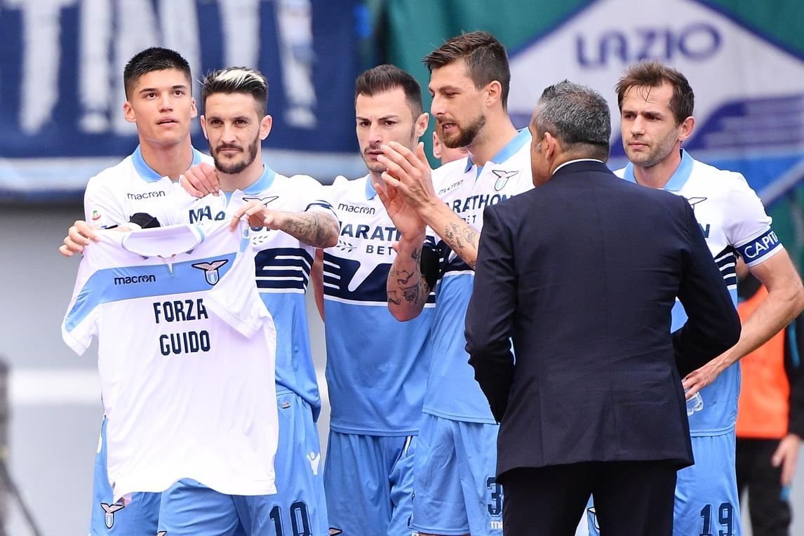 Lazio-Parma, Luis Alberto segna e dedica il gol a Guerrieri: «Forza Guido»