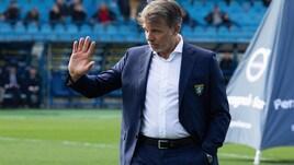 Serie A Frosinone, Baroni: «Regalato un tempo all'Empoli»