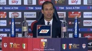 """Allegri: """"Oggi neanche col Padre Eterno la Juve avrebbe vinto"""""""