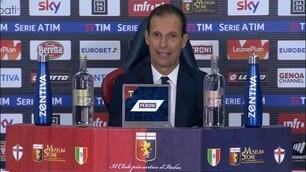 """Allegri: """"Per giocare nella Juve serve la mentalità"""""""