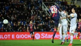 Serie B, Crotone-Lecce 2-2: Benali la riprende nel finale