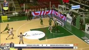 Sidigas Avellino-Grissin Bon Reggio Emilia 91-59