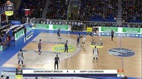 Germani Basket Brescia-Happy Casa Brindisi 97-80