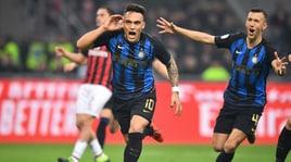 Milan-Inter 2-3: Lautaro Martinez e compagni scavalcano i rossoneri