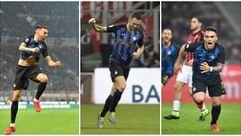 L'Inter fa suo un derby al cardiopalma: il Milan cede 3-2