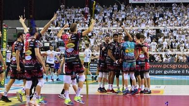 Volley: Superlega, per Perugia primo posto matematico e Champions