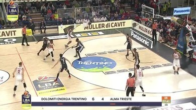 Dolomiti Energia Trentino-Alma Trieste 82-75