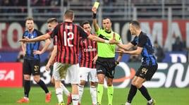 Moviola Serie A: Milan-Inter, Conti da rosso. Juve, Mandzukic da Var