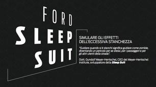 Ford Sleep Suit, alla guida solo in sicurezza: FOTO