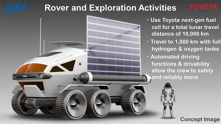 Toyota, con JAXA obiettivo Luna e Marte