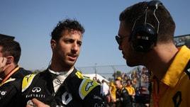 F1 Renault, Ricciardo: «Ho avuto molta sfortuna»