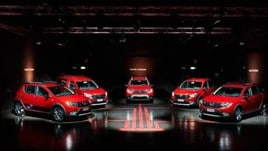 Dacia Techroad: Rosso Fusion per la nuova serie speciale