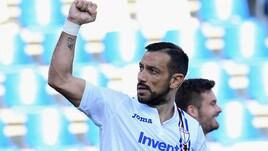 Serie A, capocannoniere: Quagliarella attacca Ronaldo