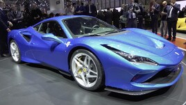 Ferrari F8 Tributo: il video da Ginevra