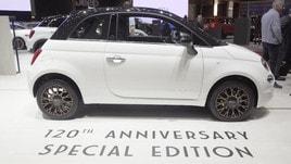 Fiat 500, che musica a Ginevra per la 120th